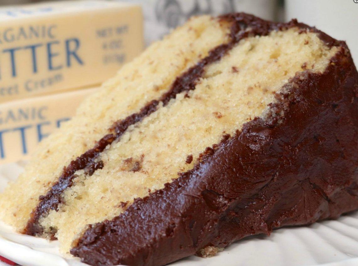 Homemade Classic Yellow Cake Recipe