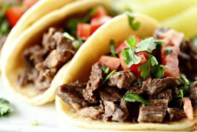 Instant pot Carne Asada Tacos Recipe